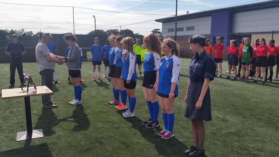 Girls 5 - a side football
